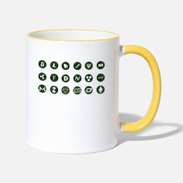 Cryptocurrency cryptocurrency - Two-Tone Mug