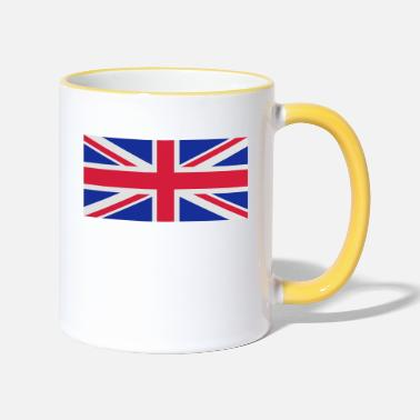 Flag British flag - Two-Tone Mug