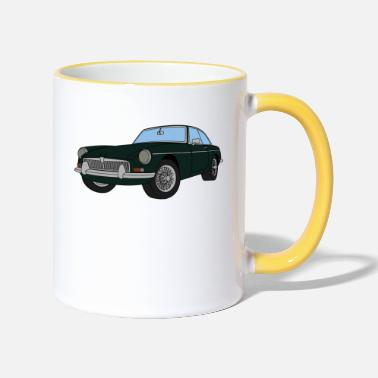 British Racing Green BRITISH RACING GREEN MGB - Two-Tone Mug