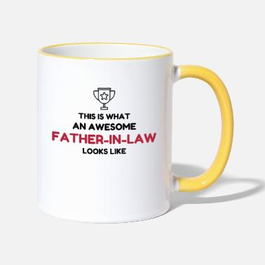 Father Father-in-law / Father in law / Marriage / Family - Two-Tone Mug