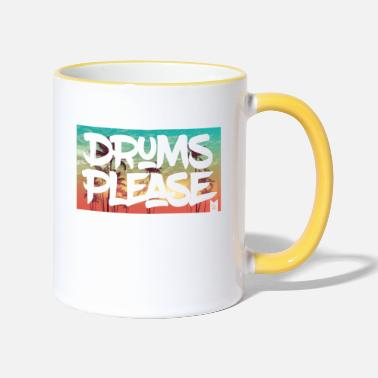 drumsplease-01 - Two-Tone Mug