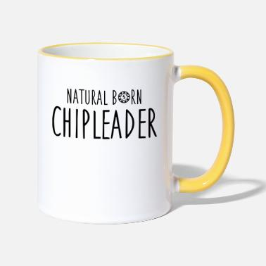 Chipleader Natural born chipleader - Mug bicolore