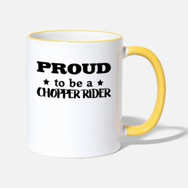 Raleigh Chopper chopper rider proud to be - Two-Tone Mug