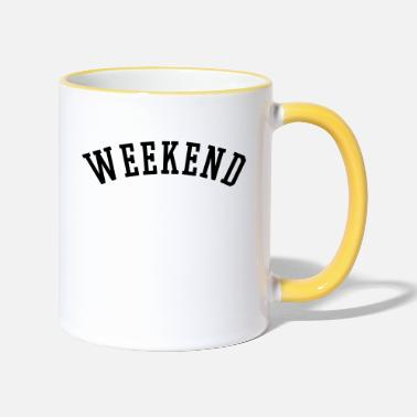 Weekend WEEKEND - Mug bicolore