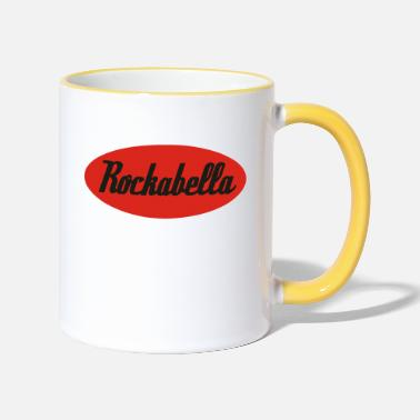 Rockabella Rockabilly Psychobilly Rock and Roll - Two-Tone Mug