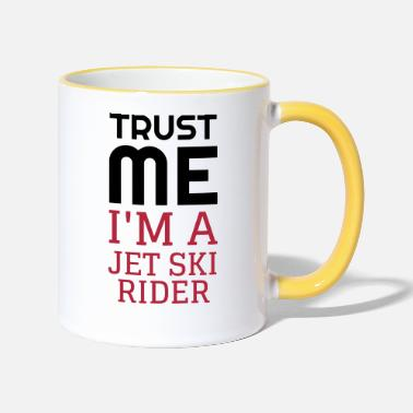 Water Jetski - Water Scooter - Jet ski - Sport - Beach - Two-Tone Mug