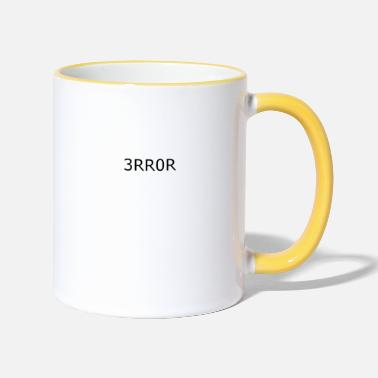 Error Error error crash - Two-Tone Mug