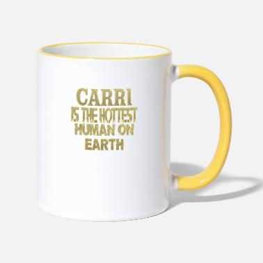 Carry Carri - Two-Tone Mug