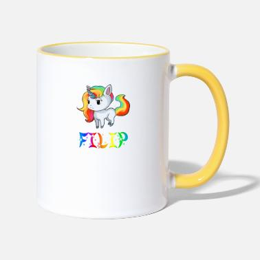 Filip Unicorn Filip - Two-Tone Mug