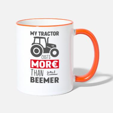 Poser My tractor costs more than your Beemer - Two-Tone Mug