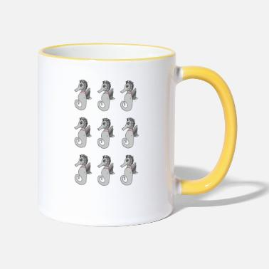 Crittercontest Seahorse collection crittercontest - Two-Tone Mug