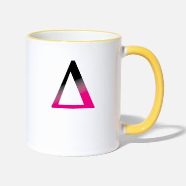 Black Greeks Greek Great Delta ∆ | La Place Operator - Two-Tone Mug