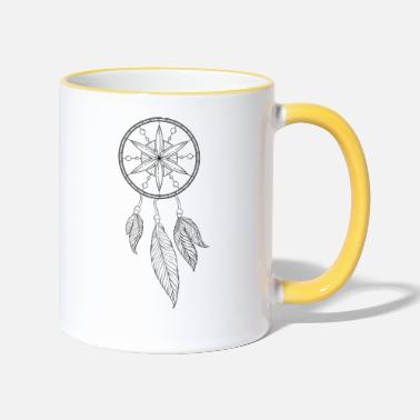 Dream dream catcher - Two-Tone Mug