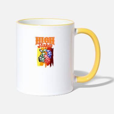 Poker POKERN gift poker players for poker players - Two-Tone Mug