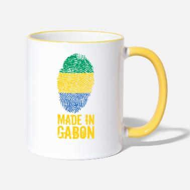 Gabon Made In Gabon / Gabon / Le Gabon - Tazza bicolor