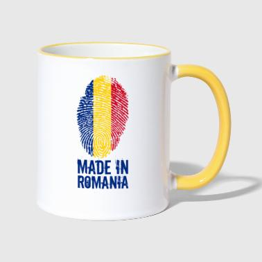 Made in Roemenië / Made in Roemenië - Mok tweekleurig