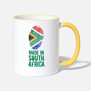 South Made In South Africa / South Africa - Two-Tone Mug