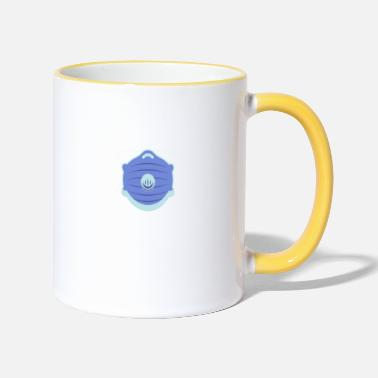 Mouth and face protection - Two-Tone Mug