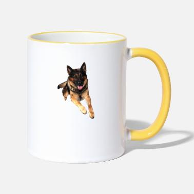 German German Shepherd / German Shepherd - Two-Tone Mug