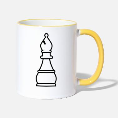 Bishop Chess Bishop - Two-Tone Mug