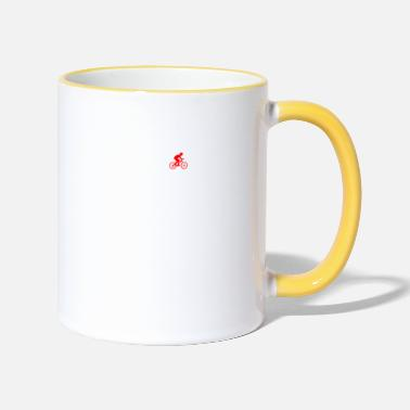 Bycicle EVOLUTION bycicle bicycle mountainbike - Two-Tone Mug