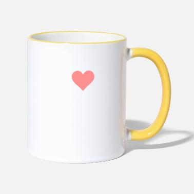 Slutty I Love Orgasms! - Two-Tone Mug