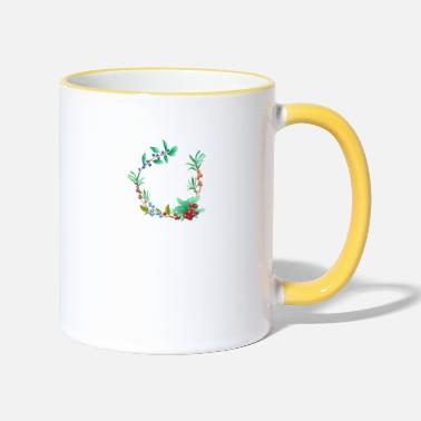 Berries Berry - Two-Tone Mug