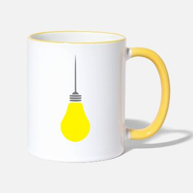 Light light bulb - Two-Tone Mug