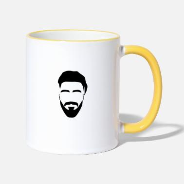 Hipster hipster - Two-Tone Mug