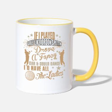 Cross Golfer Golf Golfer Golfer Gift - Two-Tone Mug
