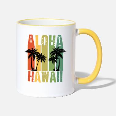 Hawaii Hawaii - Two-Tone Mug