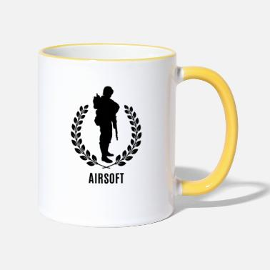Airsoft Airsoft is Cool !!!! - Two-Tone Mug