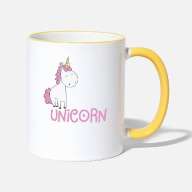 Unicorn Funny Unicorn Gift Hest Unicorn Magic - Contrast krus