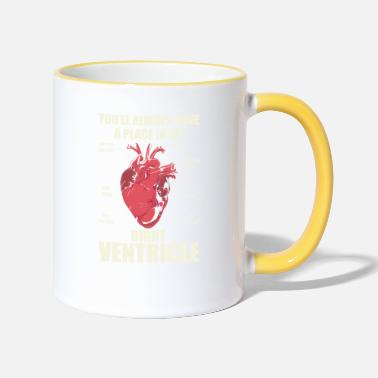 Rescue Services Rescue Service -Right Ventricle - Two-Tone Mug