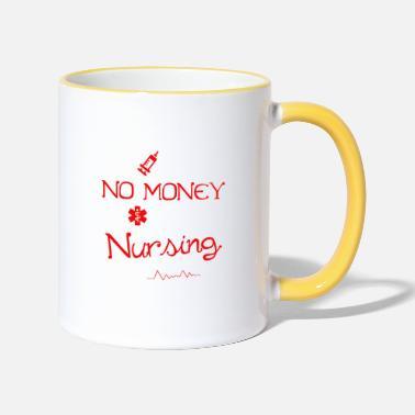 Current-students No Sleep No Money No Life Funny Nursing Student RN - Two-Tone Mug