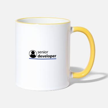 Sénior Senior Developer - Mug contrasté