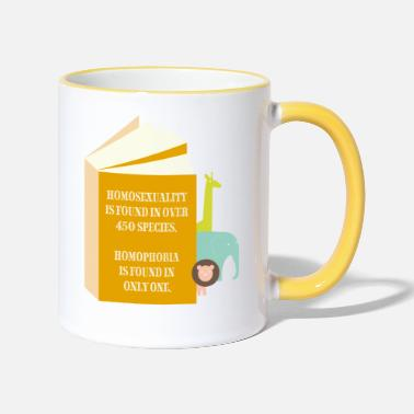 Spreadshirtlikes species - Mug bicolore