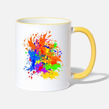 Colour Splash - Two-Tone Mug