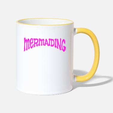 Trendsport Trendsport Mermaid Mermaiding Gift - Two-Tone Mug
