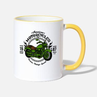 Motorcycling Motorcycle Motorcycles - Two-Tone Mug