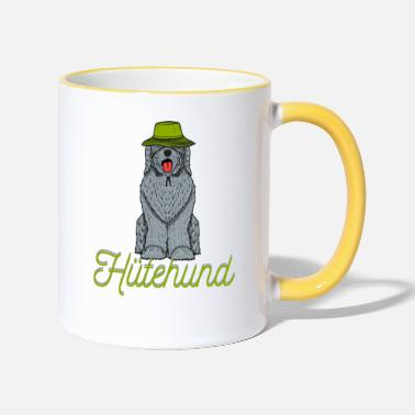 Keramiktasse Kaffeetasse Weißer Schäferhund Dog-Funtasse Hund