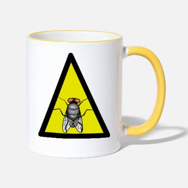 Fly Fly Fly Insect insect animals - Two-Tone Mug