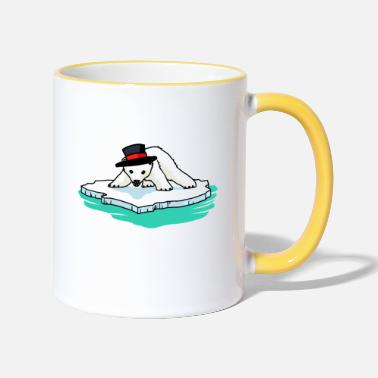 Polar Bear Polar bear polar bears - Two-Tone Mug