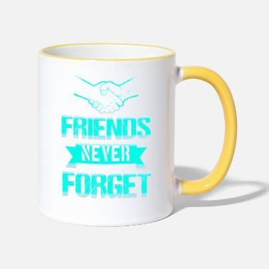 Best Friends Best friends best friends - Two-Tone Mug