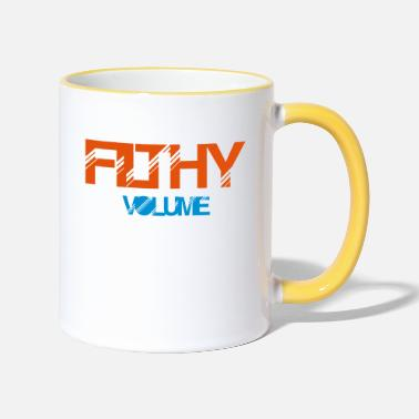 Filthy filthy volume - Two-Tone Mug