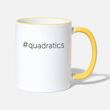 Quadrat quadratics - Two-Tone Mug