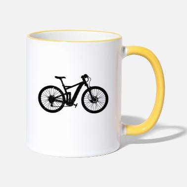 Bicycle bicycle - Two-Tone Mug