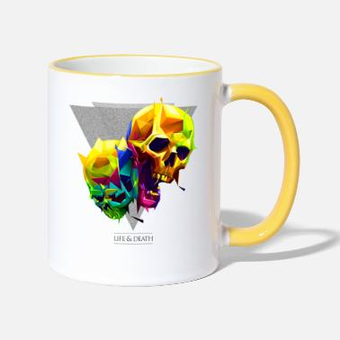 Mythical Collection Skulls - Two-Tone Mug