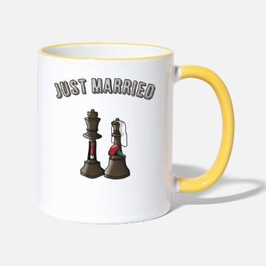 Wedding Just married! - Two-Tone Mug