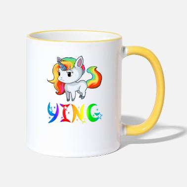 Ying Unicorn Ying - Two-Tone Mug
